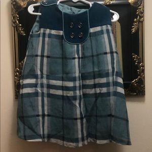 Girls Burberry Silk,Wool,Cashmere Dress